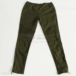 Cool top quality green trouser