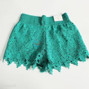 Lace Polyester Summer Short for Women
