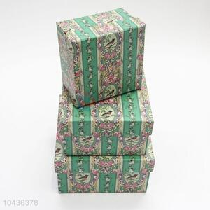 Good Quanlity 3pcs Deluxe Paper Gift Box for Girl