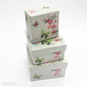 Recent Design 3pcs Fancy Design Gift Box Packaging Box for Girls