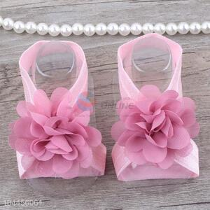 Factory Price China Supply Baby Flower Headband Foot Ornaments