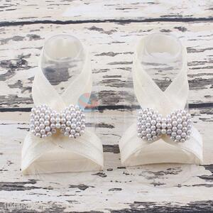 Best Quality Good Sale Pearl Bowknot Foot Ornaments
