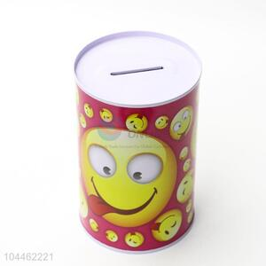 High Quality Printed Tin Can Coin Bank