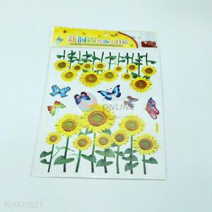 Sunflower PVC <em>Sticker</em> For Sale