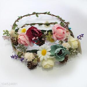 Promotional best fashionable flower lei