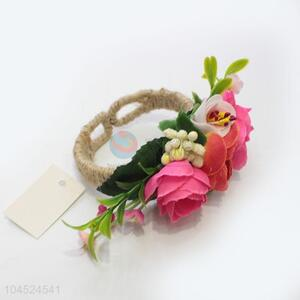 Good quality flower hand ring