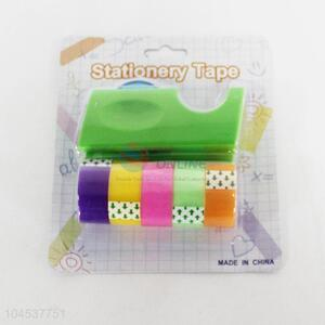 Stationary Tape Dispenser With Tapes Set
