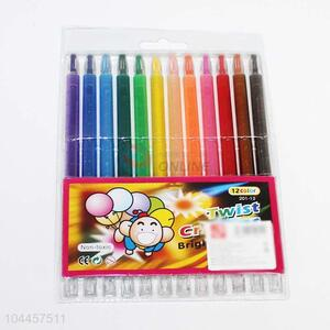 Latest style 12 colors crayon for sale