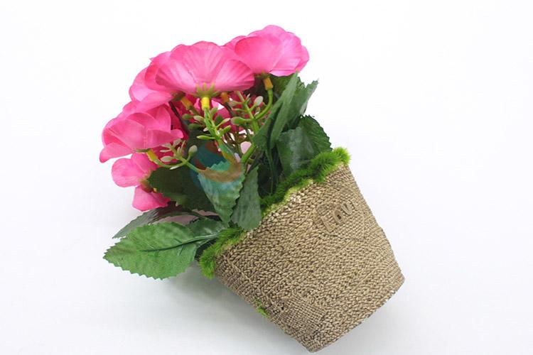 Super quality artificial flower potted plant