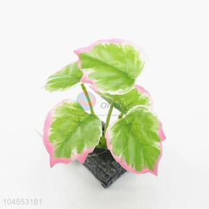 Cute design mini fake potted plant bonsai