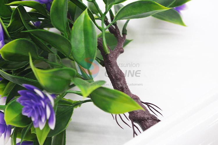 New popular mini fake potted plant bonsai