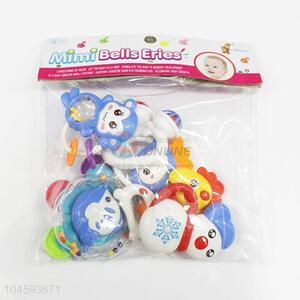 Utility And Durable Colorful Plastic Fun Baby Rattle Toys