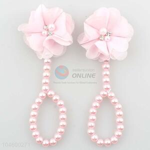 Customized Flower Pearl Foot Band