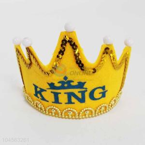 Factory Hot Sell Crown Decoration with Light for Sale