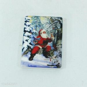 Good Reputation Quality Santa Claus Ceramics Fridge Magnet