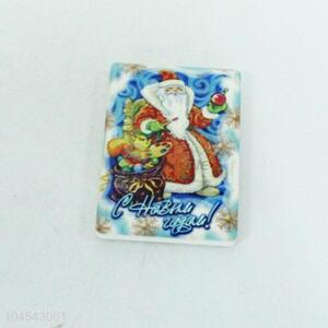 New Products Santa Claus Ceramics Fridge Magnet