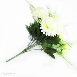 White Color Real Touch Fake Flower for Home Decoration
