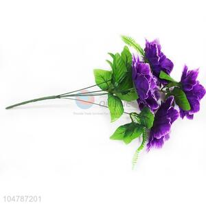 Purple Color Real Touch Mini Flower Wedding Party for Decoration