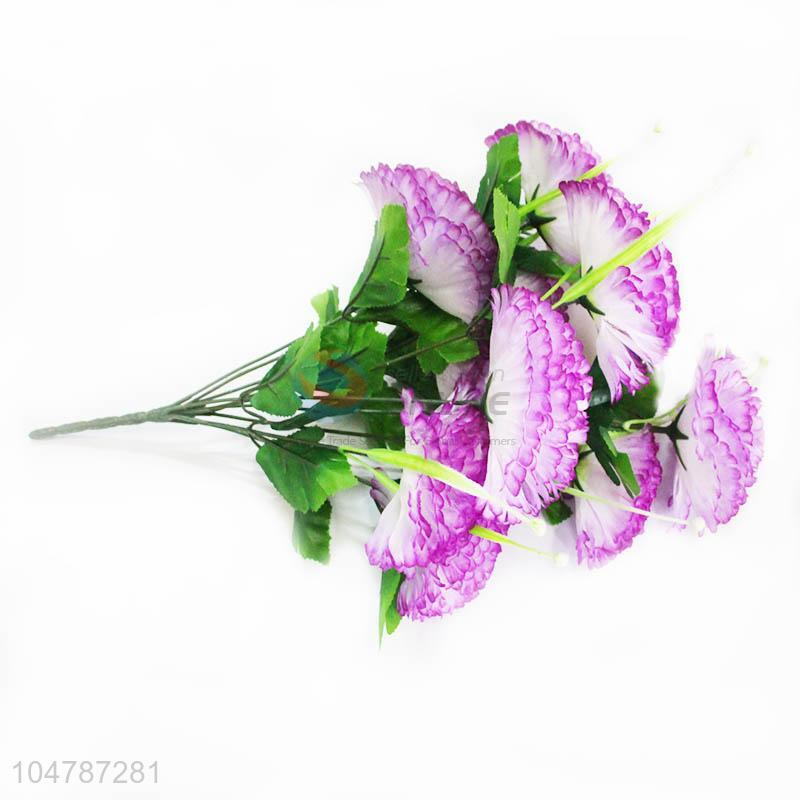 A Bunch Of Fake Light Purple Flower For Home Decoration Artificial Flowers Sellersunion Online