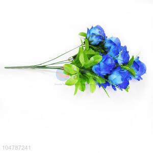 Blue Color A Bunch of Artificial Flower for Weeding Party