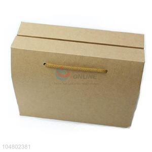 China Factory Price Kraft Paper Square Candy Box for Wedding