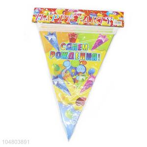 Cheap Price Wholesale Paper Pennant Bunting Christmas Decoration Birthday Party