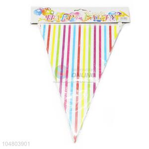 New Arrival Wholesale Paper Board Bunting Pennant Flags