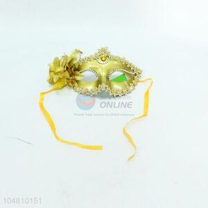 Good quality gold queen mask for party,17.2*10.5cm