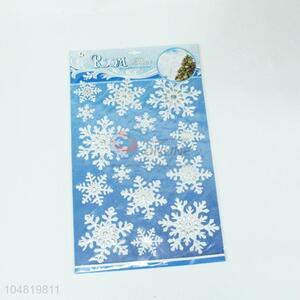 Beautiful Snowflake Pattern Room Stickers for Decoration