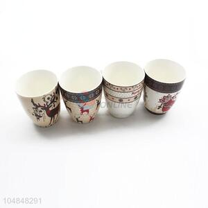 Popular Wholesale Christmas Series Ceramic Cup for Drinking
