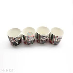 Factory Wholesale Christmas Series Ceramic Coffee Cups Tea Cup