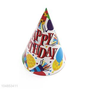 New arrival paper birthday party hat