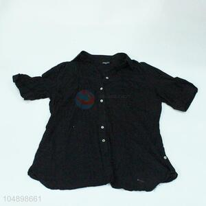 Factory price best black shirt