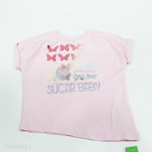 Cute low price butterfly pattern t-shirt