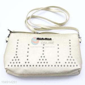 Good Quality Beige Color Retro Design Women Shoulder Bag Messenger Bag