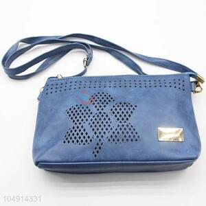 Fashion Blue Color Hollow-out Design Women Shoulder Bag
