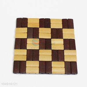Best High Sales Cute Square Shaped Bamboo Placemat