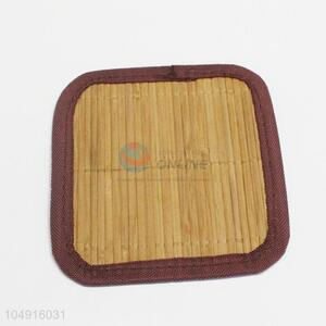 Latest Arrived Square Shaped Bamboo Weaving Material Kitchen Placemat Table Mat