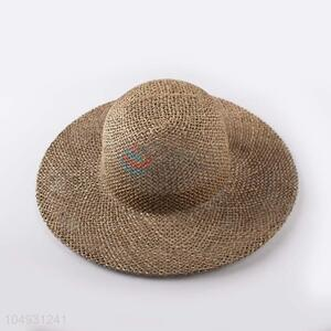 Competitive price straw hat panama summer beach hat for women