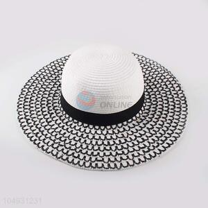 Wholesale premium quality women paper panama straw hat