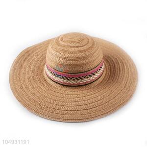 Wholesale low price women paper panama straw hat