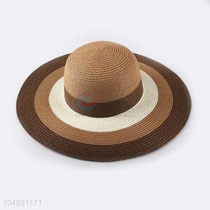 Latest design women paper panama straw hat