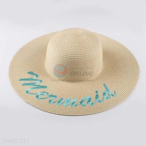 Factory OEM women paper panama straw hat