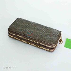 Popular style cheap wallet for women