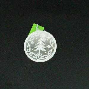 Popular White Glass Christmas Decorations for Sale