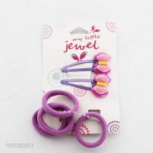 6PC Hairpin and Hair Rings for Girls