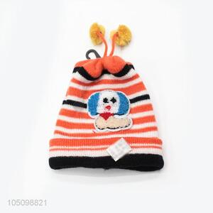 Modern Style Lovely Dog Printing Winter Hats for Kids