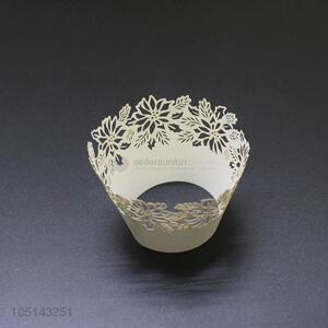 Resonable price laser cut paper cakecup w/o bottle