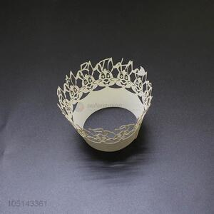 Factory supply laser cut paper cakecup w/o bottle