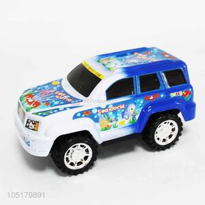 Fashion  Paint Spraying Inertia Off-Road Vehicle Cartoon Toy Car